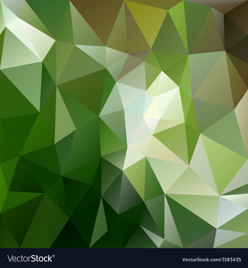 Green forest triangular background vector | Price: 1 Credit (USD $1)