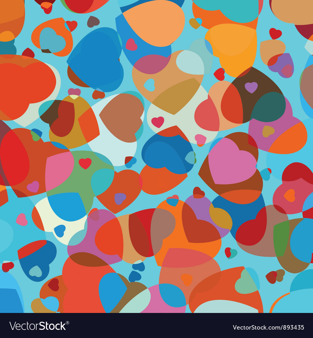 Heart shape background vector | Price: 1 Credit (USD $1)