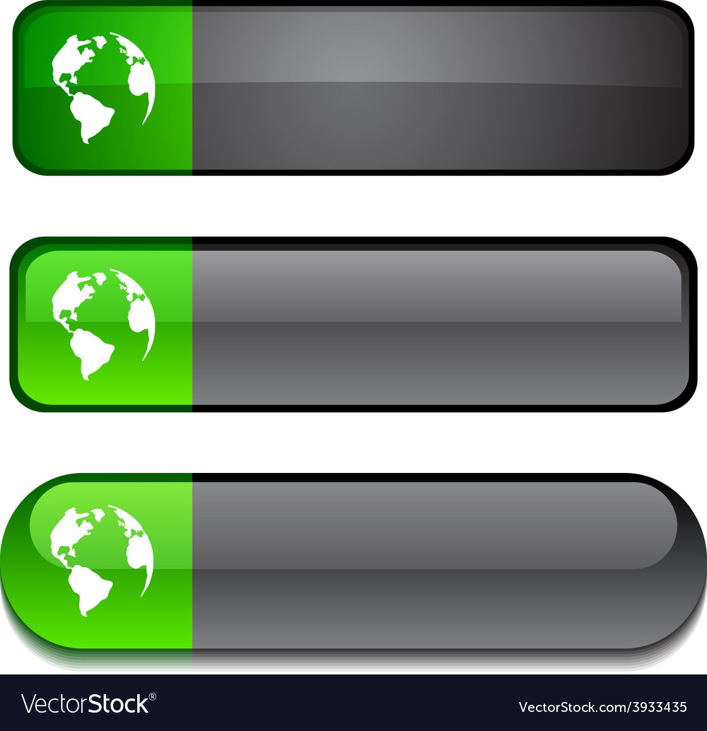 Planet button set vector   Price: 1 Credit (USD $1)