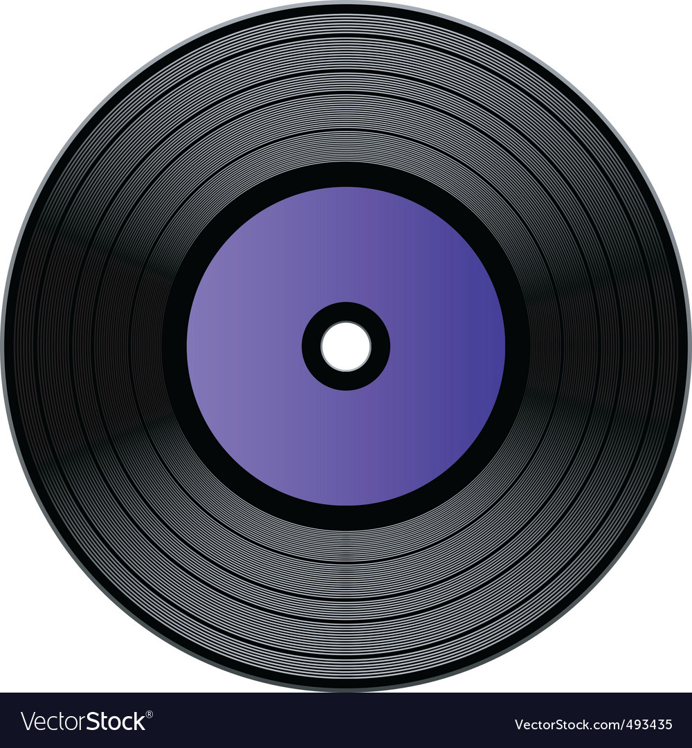 Record vector | Price: 1 Credit (USD $1)