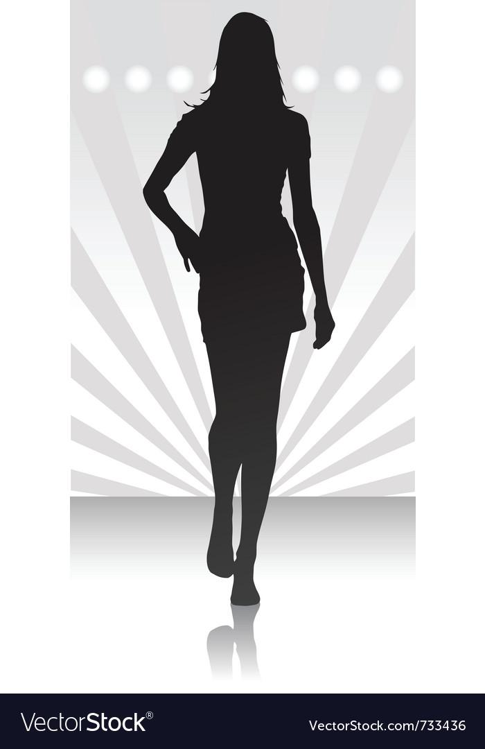 Fashion parade icon vector | Price: 1 Credit (USD $1)