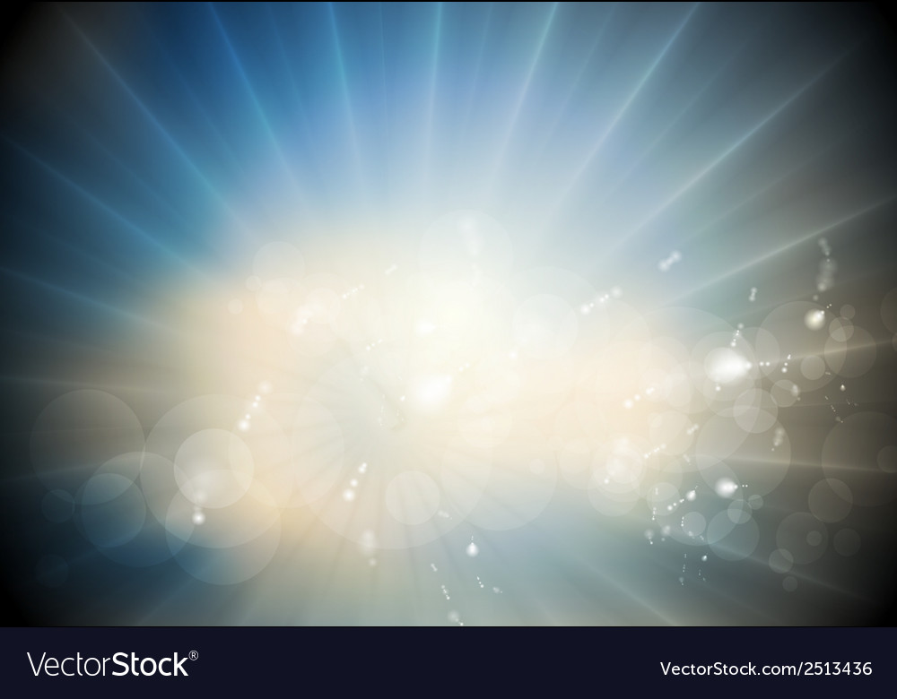 Glowing sunlight background vector | Price: 1 Credit (USD $1)