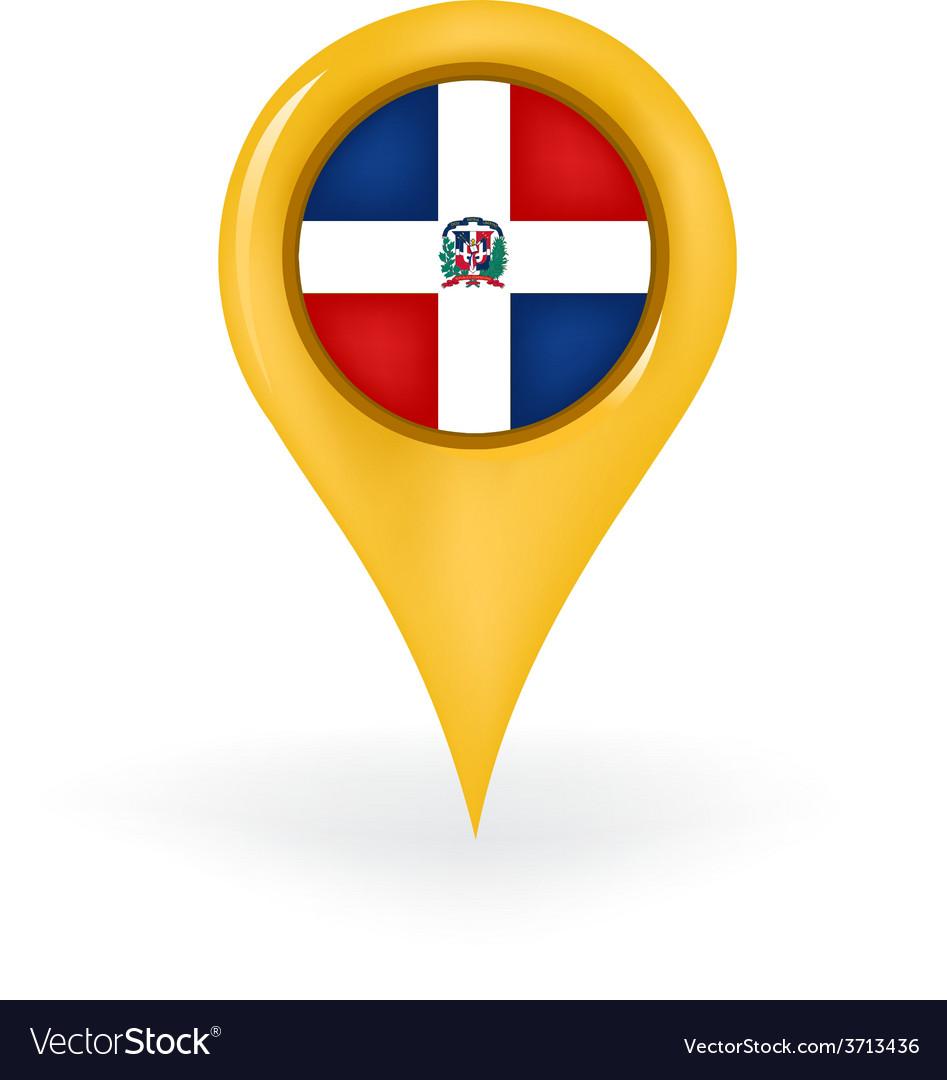 Location dominican republic vector | Price: 1 Credit (USD $1)