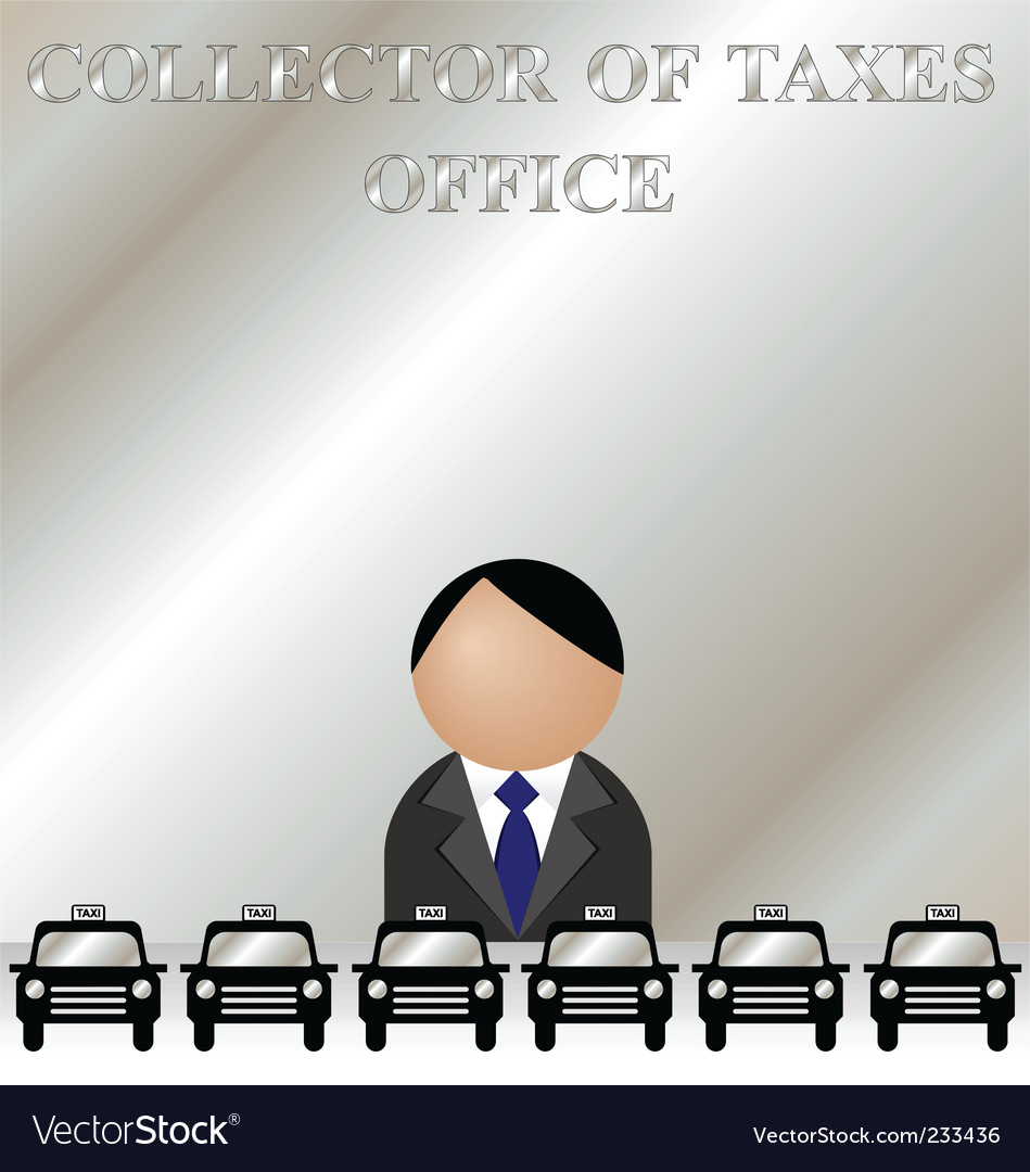 Tax man vector | Price: 1 Credit (USD $1)