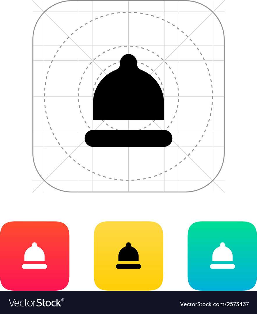 Condom small size icon vector | Price: 1 Credit (USD $1)