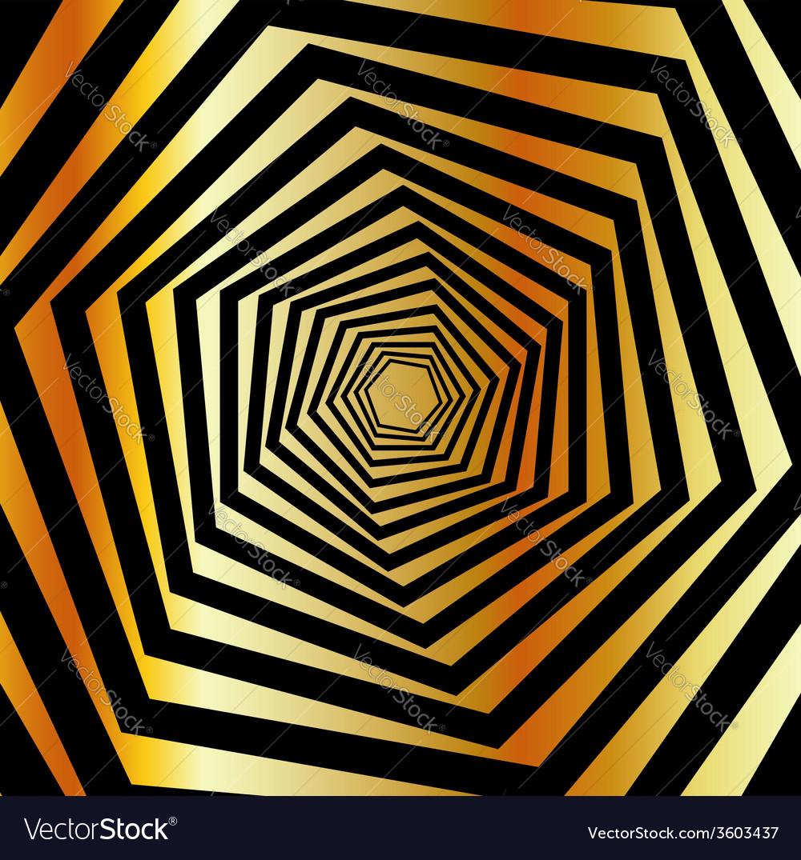 Golden furutistic background vector | Price: 1 Credit (USD $1)