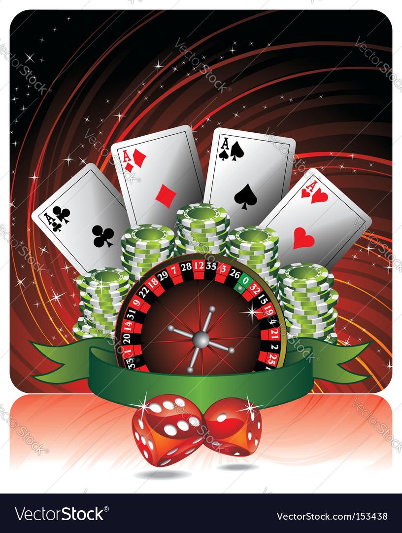 Casino illustration vector | Price: 1 Credit (USD $1)