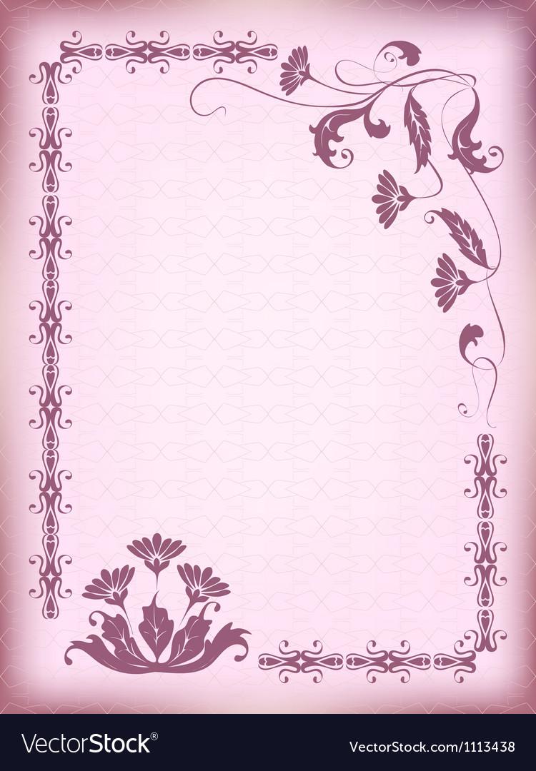 Design frame vector | Price: 1 Credit (USD $1)