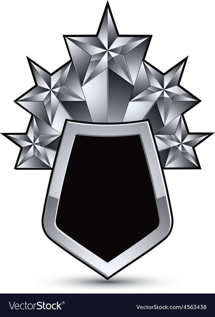 Heraldic 3d glossy icon for use in web and graphic vector | Price: 1 Credit (USD $1)