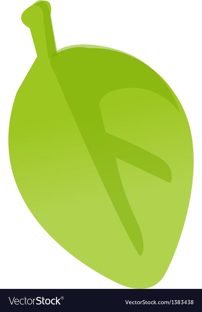 Icon leaf vector | Price: 1 Credit (USD $1)