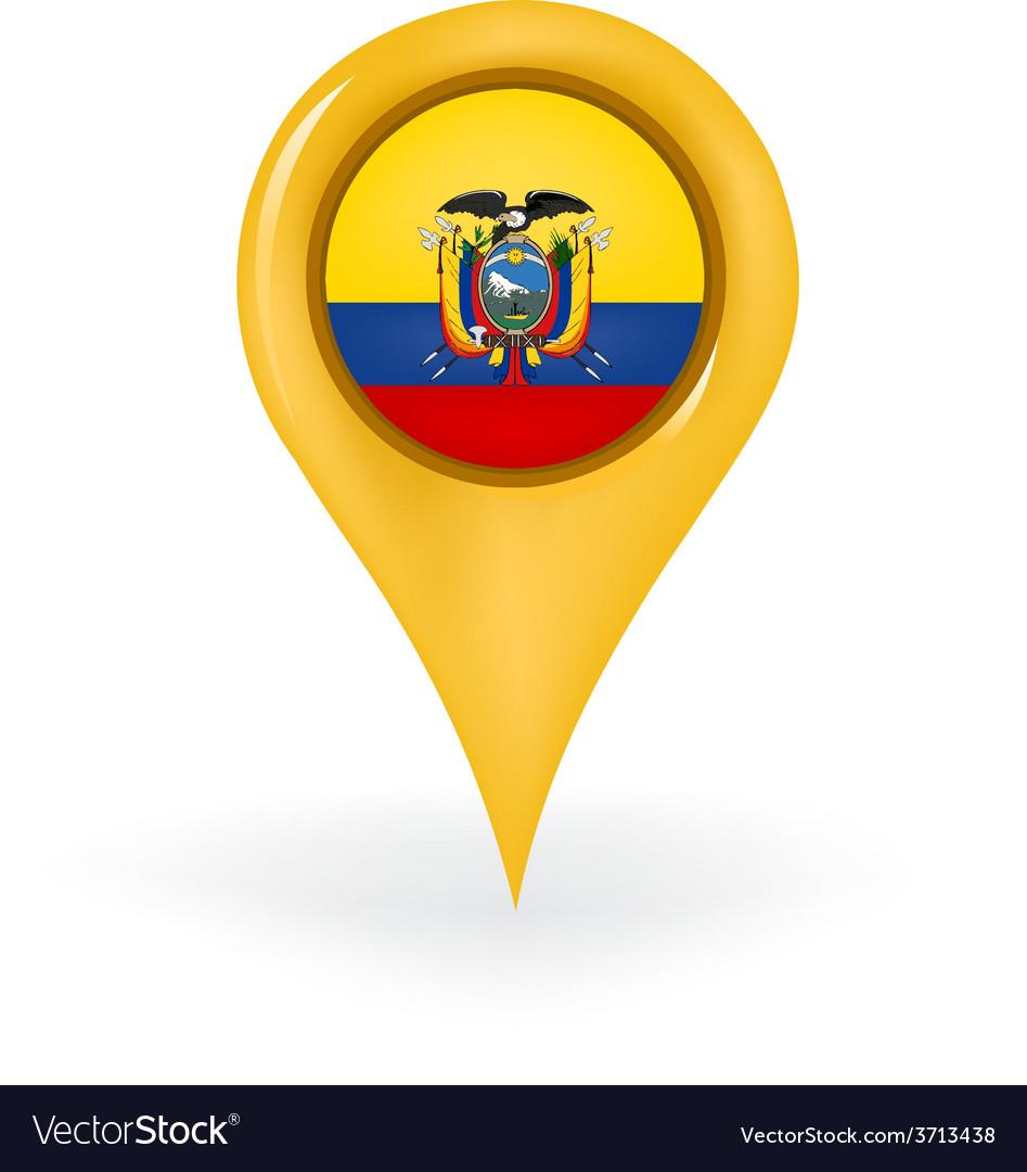 Location ecuador vector | Price: 1 Credit (USD $1)