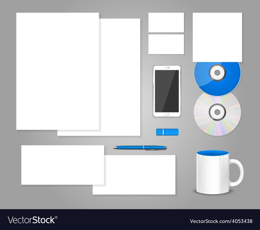 Set of templates corporate identity vector   Price: 1 Credit (USD $1)