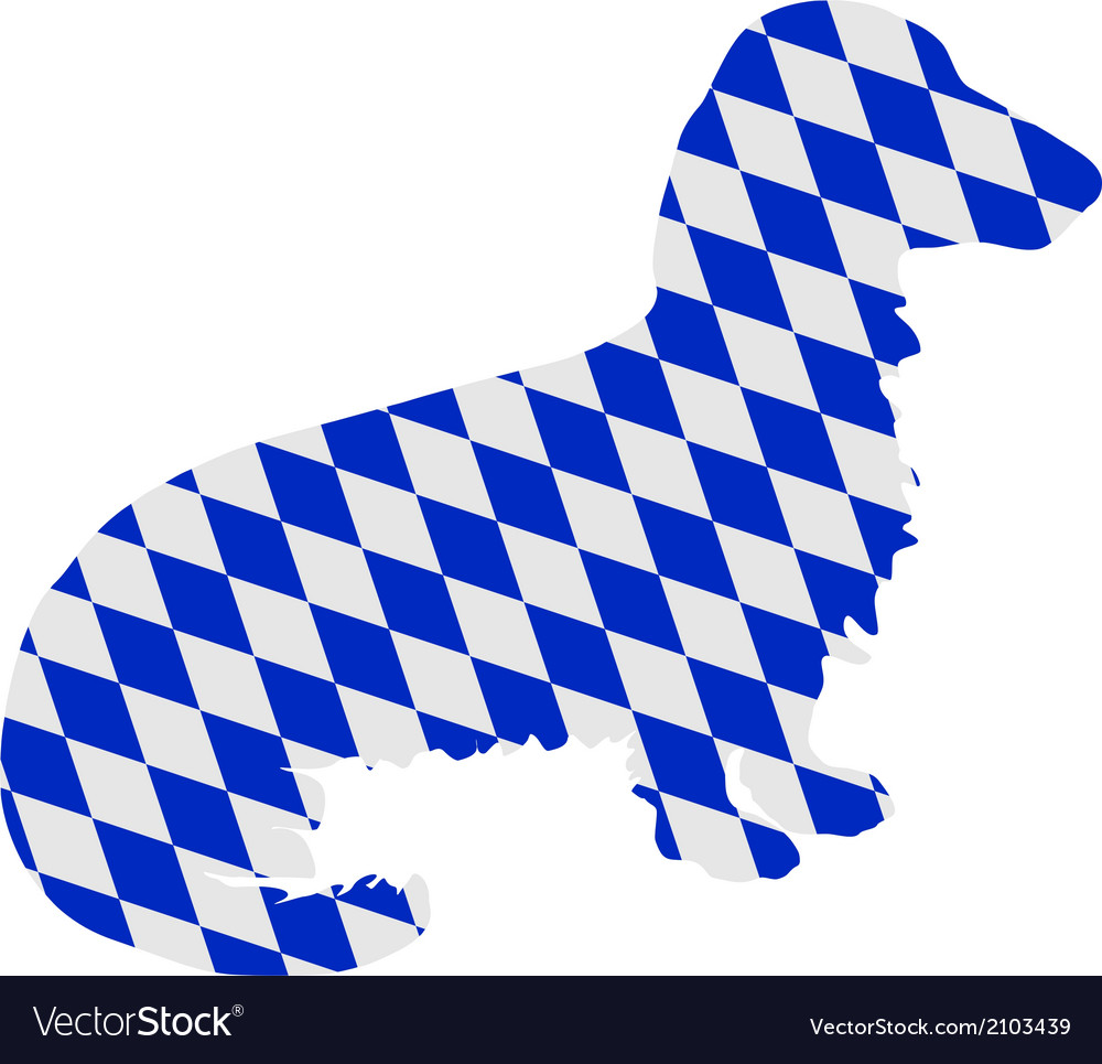 Bavarian longhaired badger vector | Price: 1 Credit (USD $1)