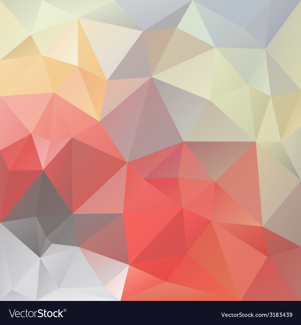 Pastel love triangular background vector | Price: 1 Credit (USD $1)