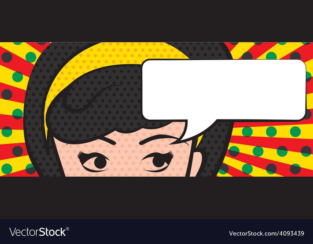 Pop art vector | Price: 1 Credit (USD $1)