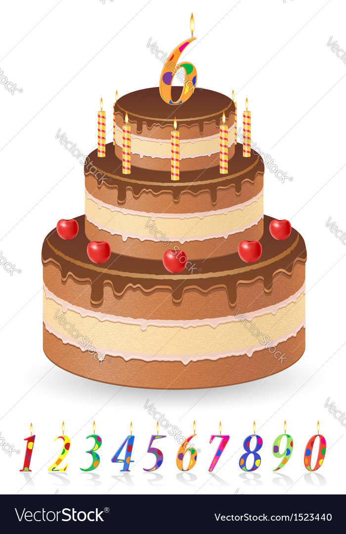 Cake 03 vector | Price: 1 Credit (USD $1)