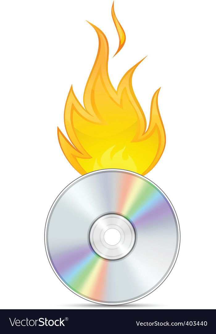 Dvd burn vector | Price: 1 Credit (USD $1)