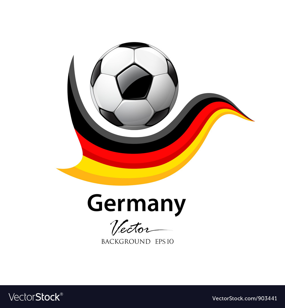 Football team germany vector | Price: 3 Credit (USD $3)