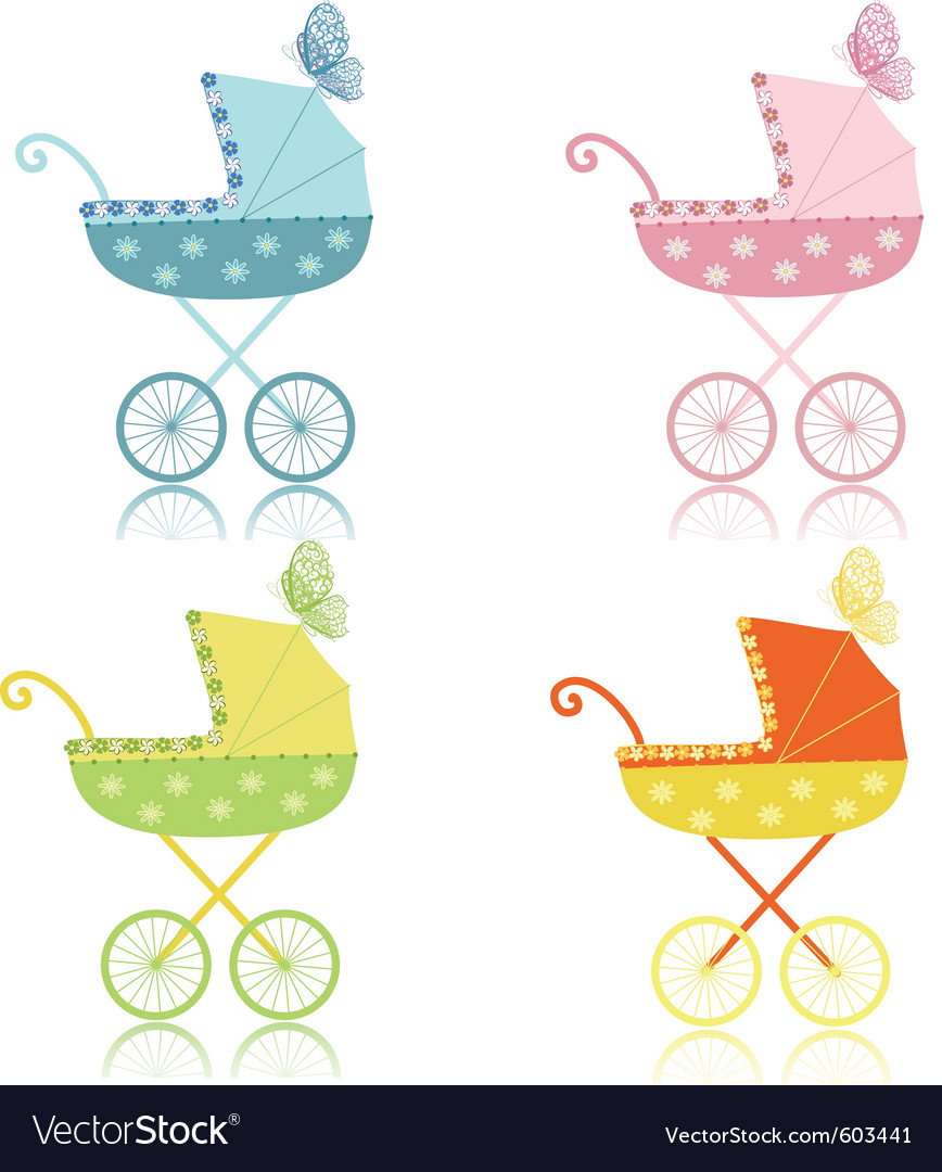Strollers vector | Price: 1 Credit (USD $1)