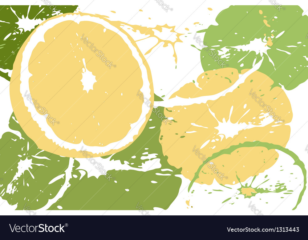 Citrus abstract backdrop vector | Price: 1 Credit (USD $1)