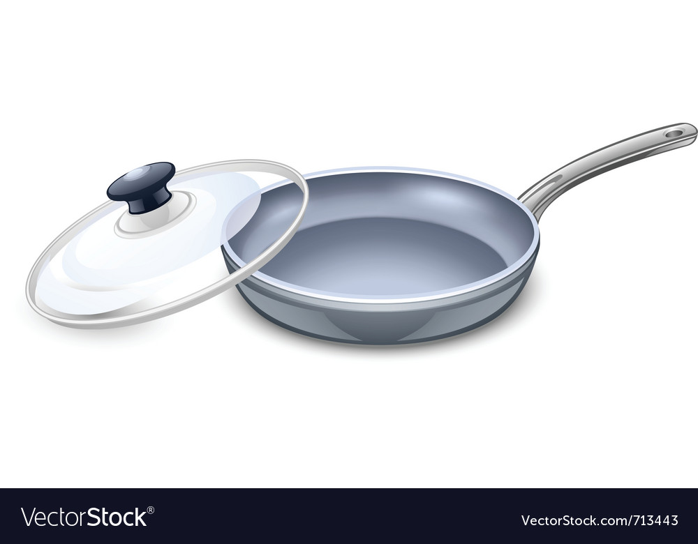 Frying pan vector | Price: 3 Credit (USD $3)