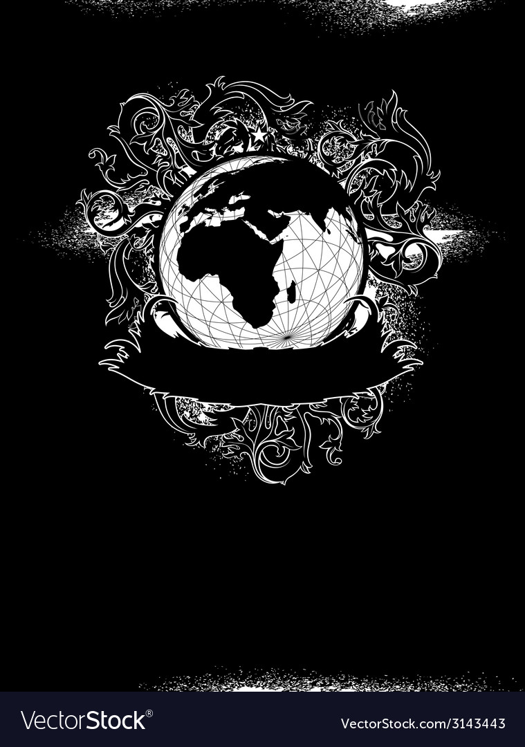 Grunge earth design vector | Price: 1 Credit (USD $1)