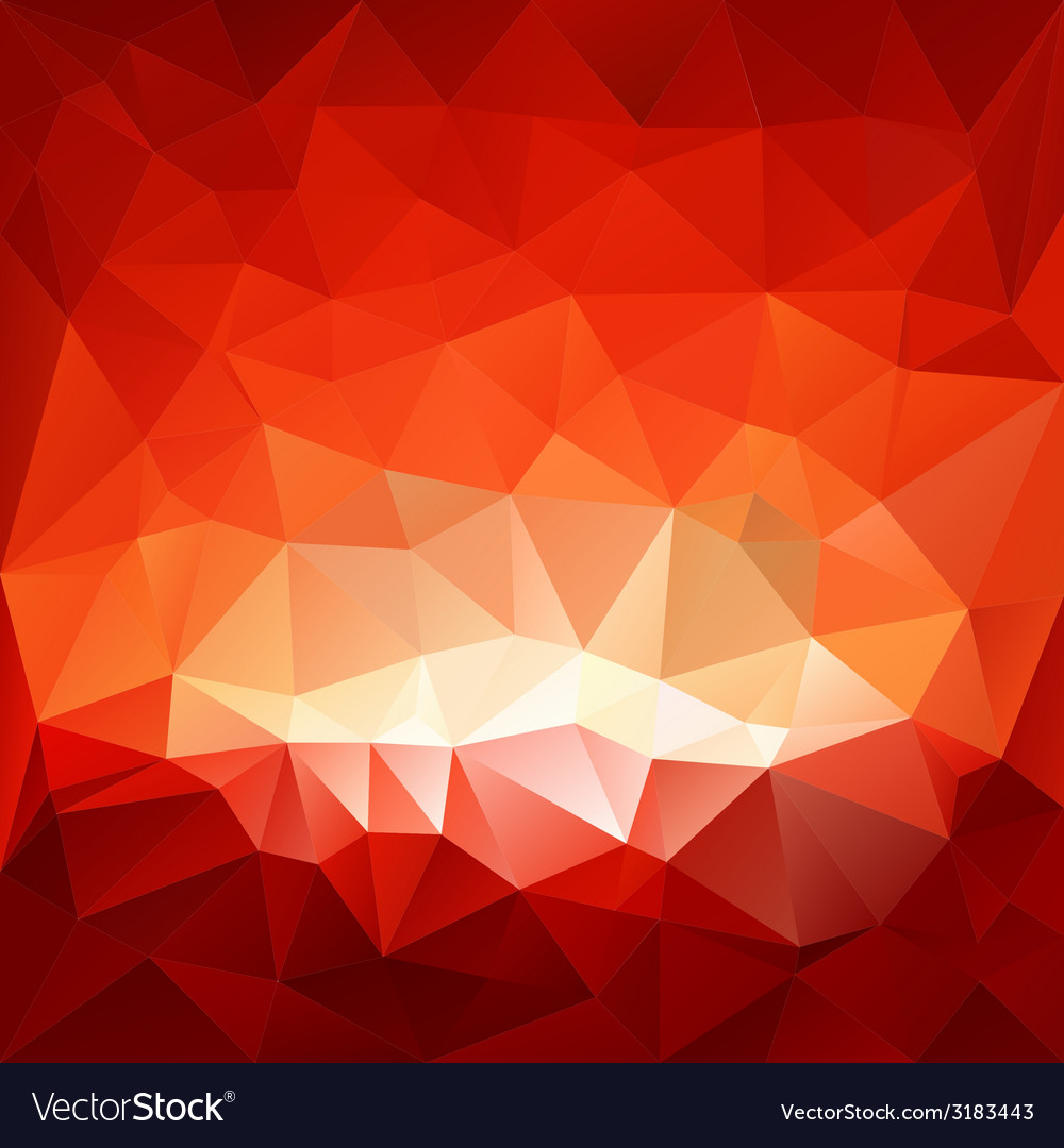 Red hell triangular background vector | Price: 1 Credit (USD $1)