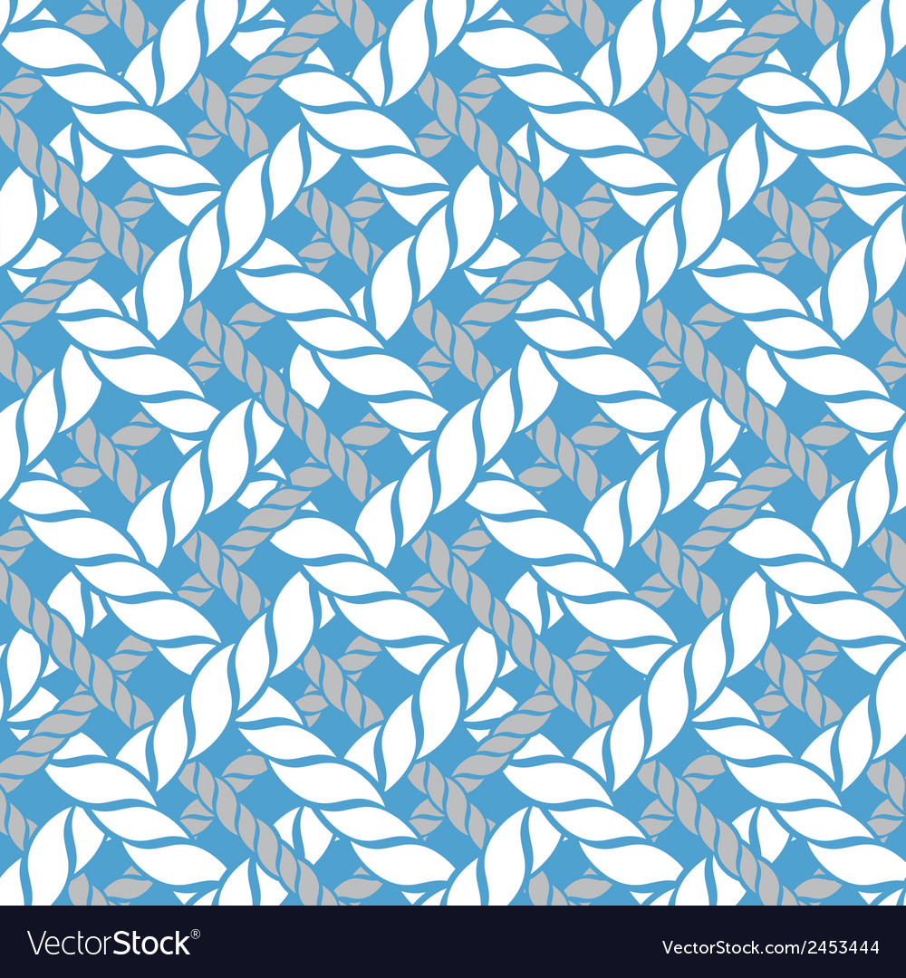 Pattern from marine ropes vector | Price: 1 Credit (USD $1)