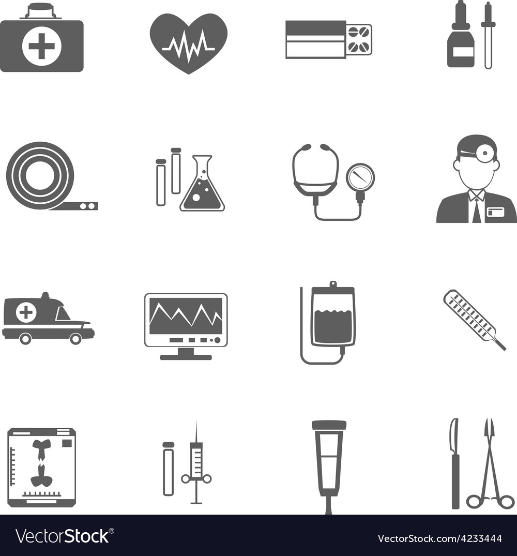 Simple medical icon vector | Price: 1 Credit (USD $1)