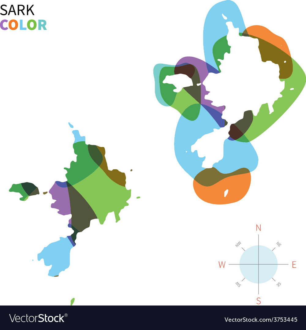 Abstract color map of sark vector   Price: 1 Credit (USD $1)