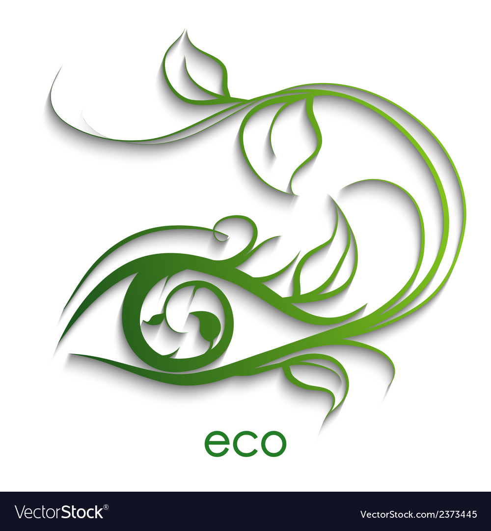 Eco nature vector | Price: 1 Credit (USD $1)