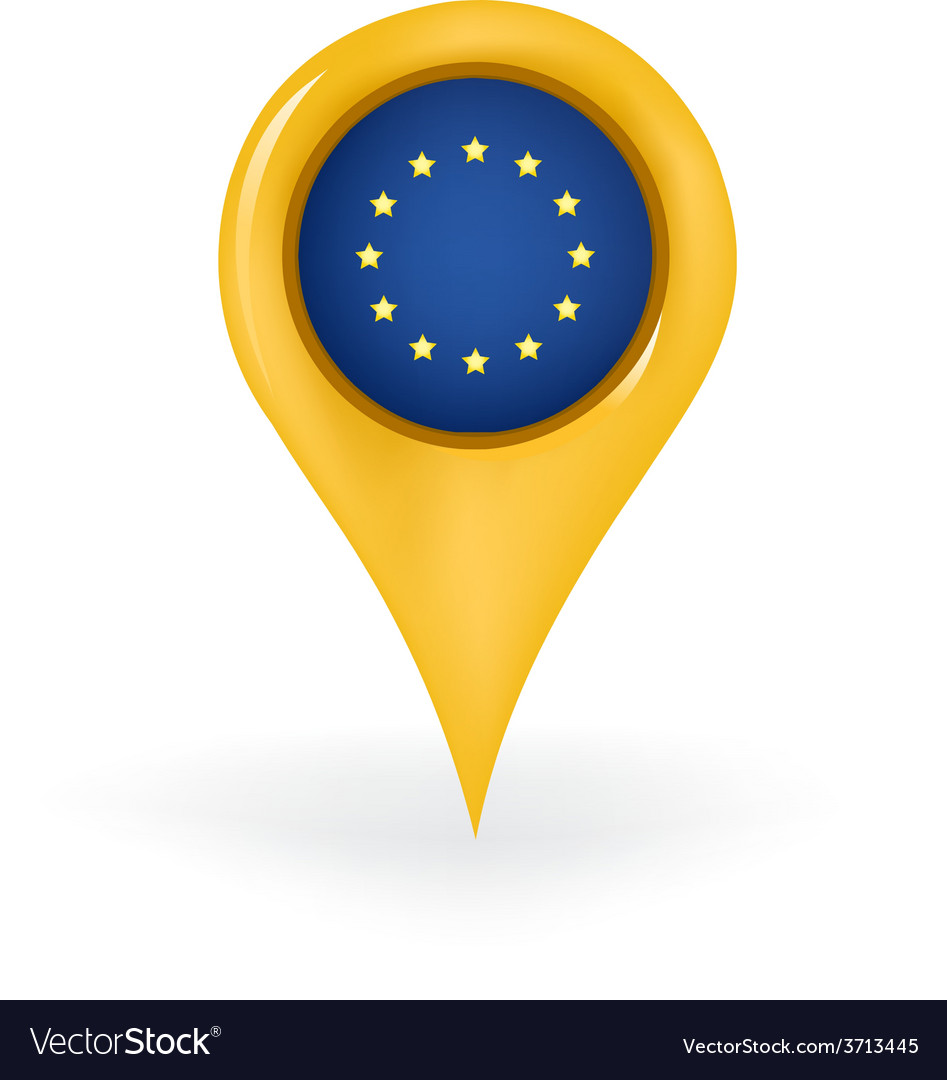 Location european union vector | Price: 1 Credit (USD $1)
