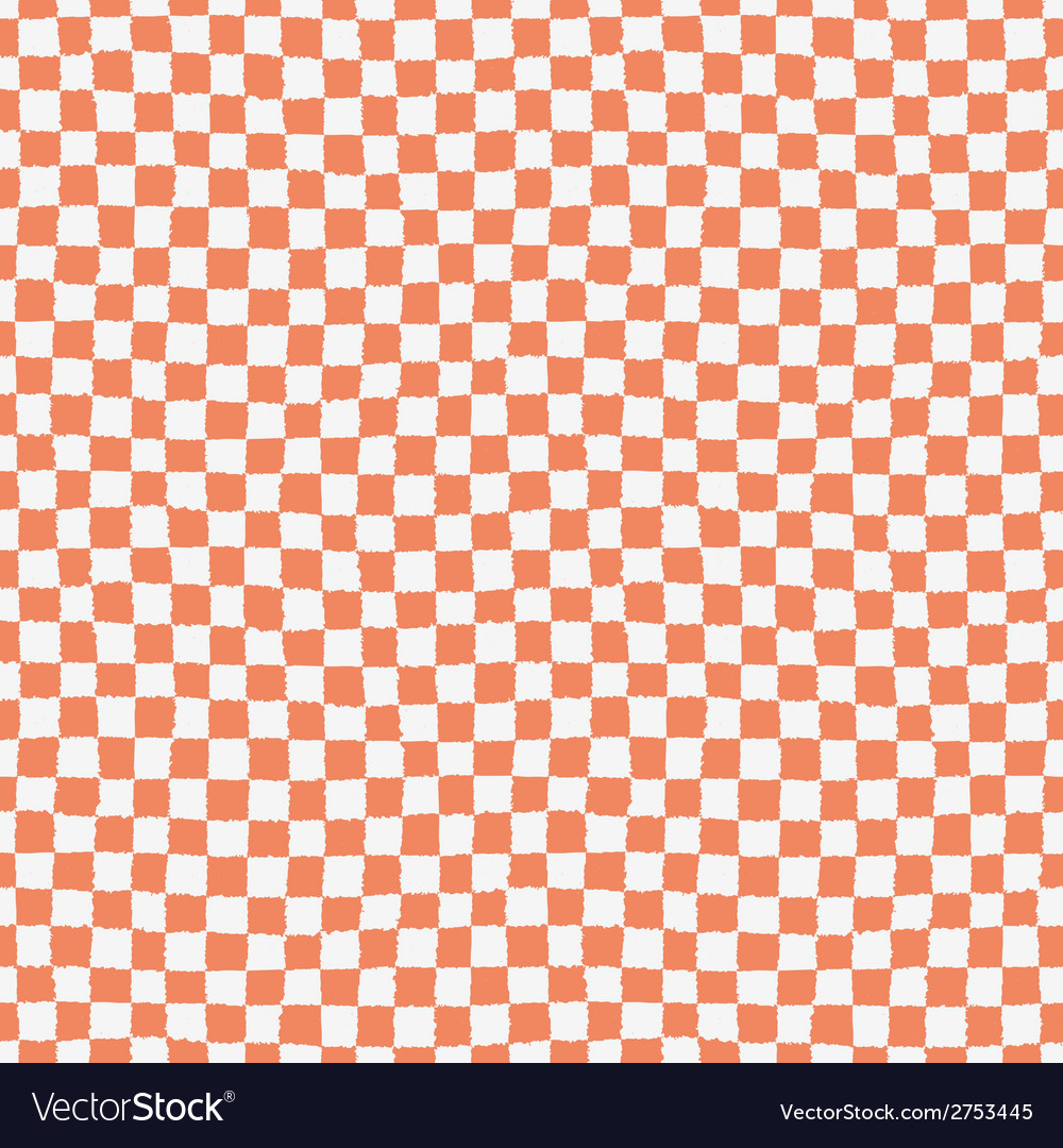 Seamless pattern with checkered geometric texture vector | Price: 1 Credit (USD $1)