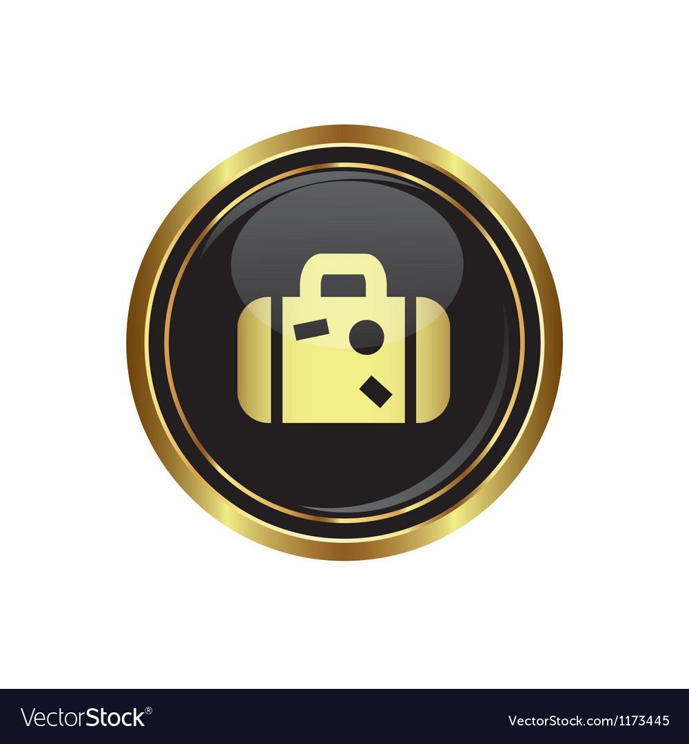 Suitcase icon vector   Price: 1 Credit (USD $1)