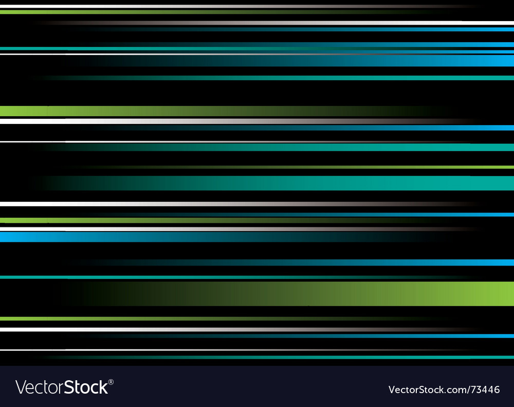 Band green blue overlap vector | Price: 1 Credit (USD $1)