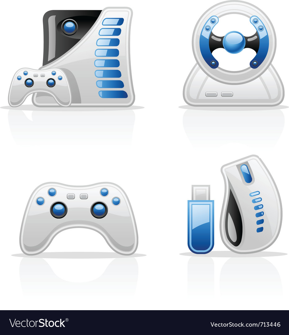 Game icons vector | Price: 3 Credit (USD $3)