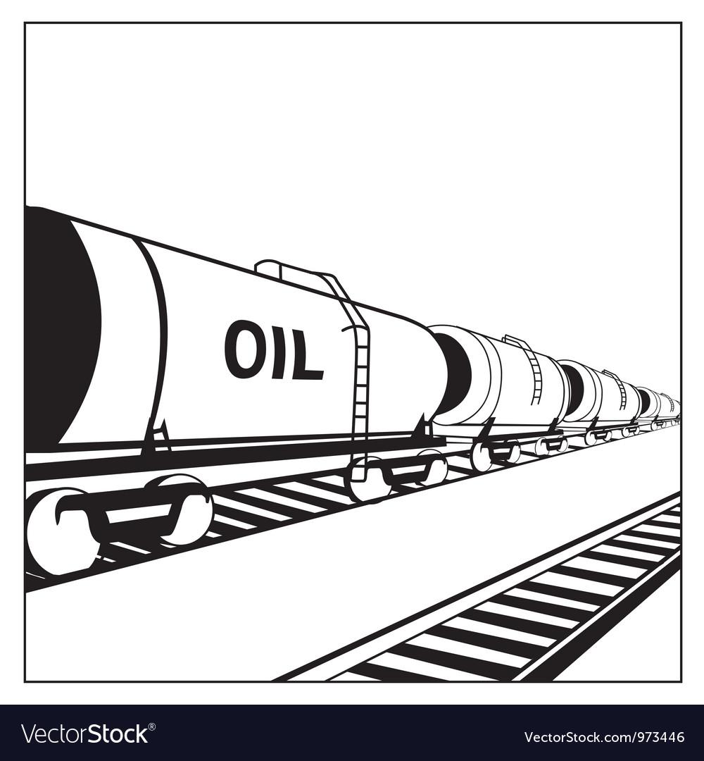 Oil tank wagon vector   Price: 1 Credit (USD $1)