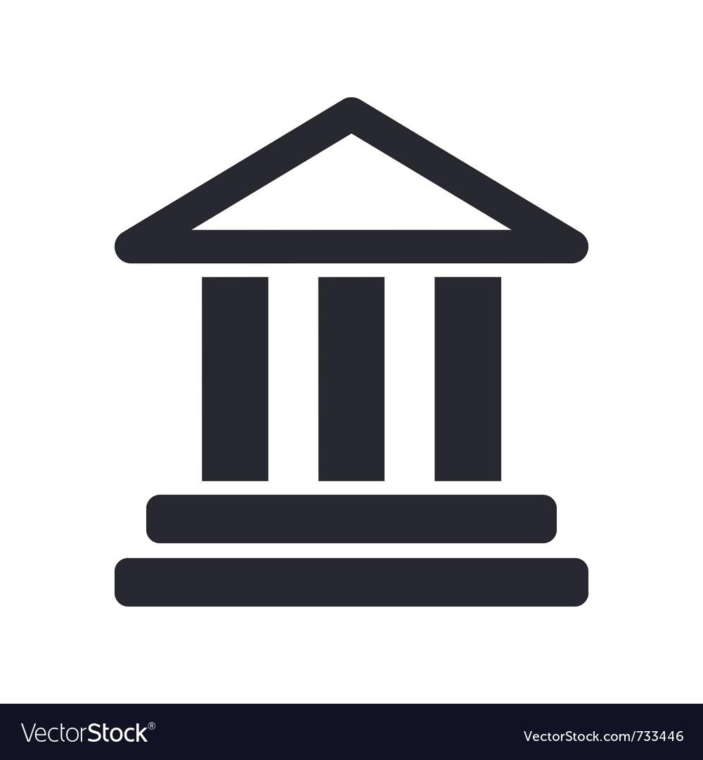 Temple icon vector   Price: 1 Credit (USD $1)