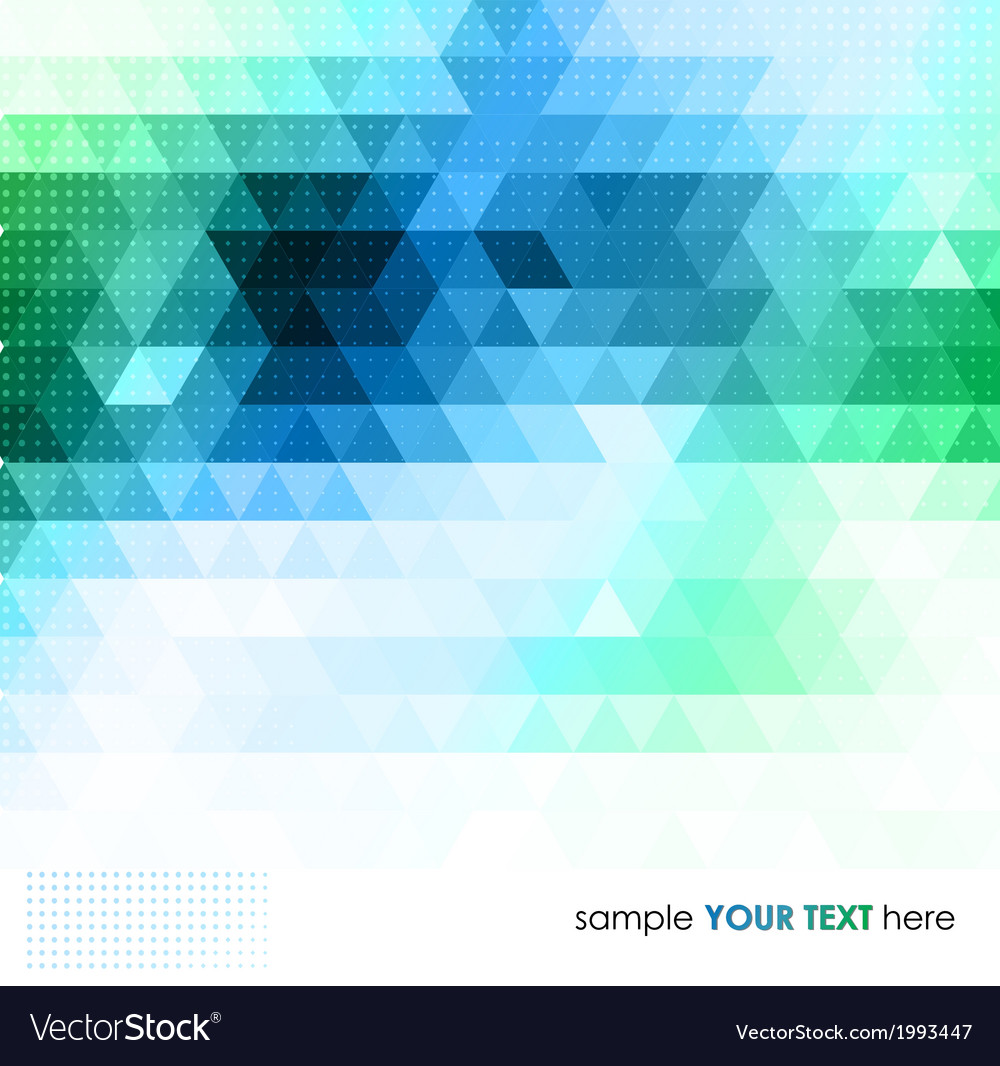 Abstract colorful geometric background vector | Price: 1 Credit (USD $1)