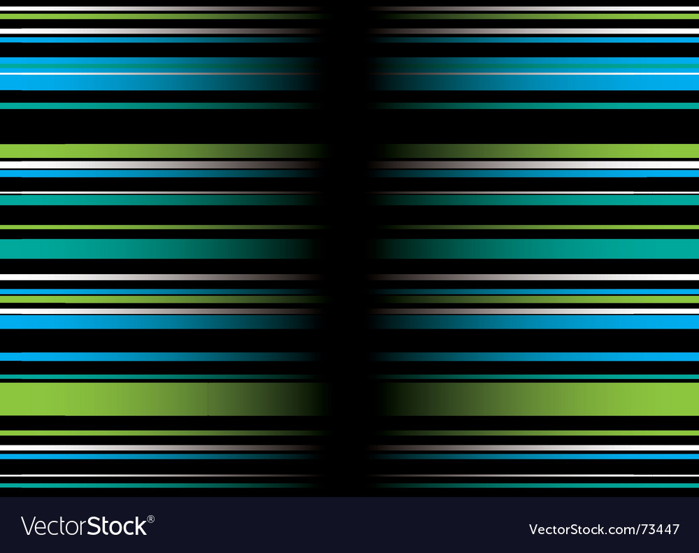 Band green blue vector | Price: 1 Credit (USD $1)