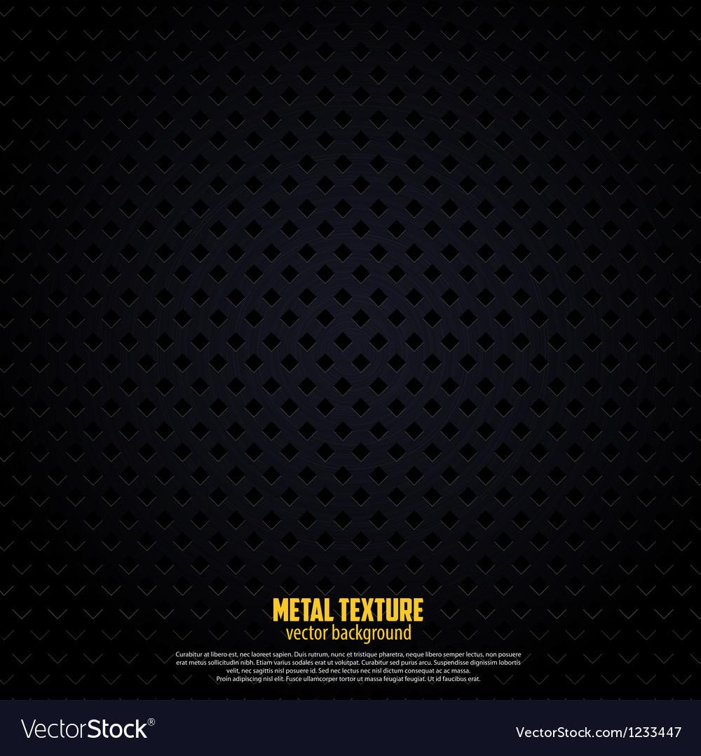Black metal background vector | Price: 1 Credit (USD $1)