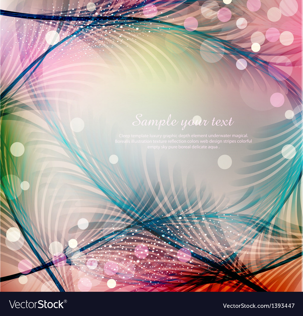 Blue abstract festive background vector | Price: 1 Credit (USD $1)