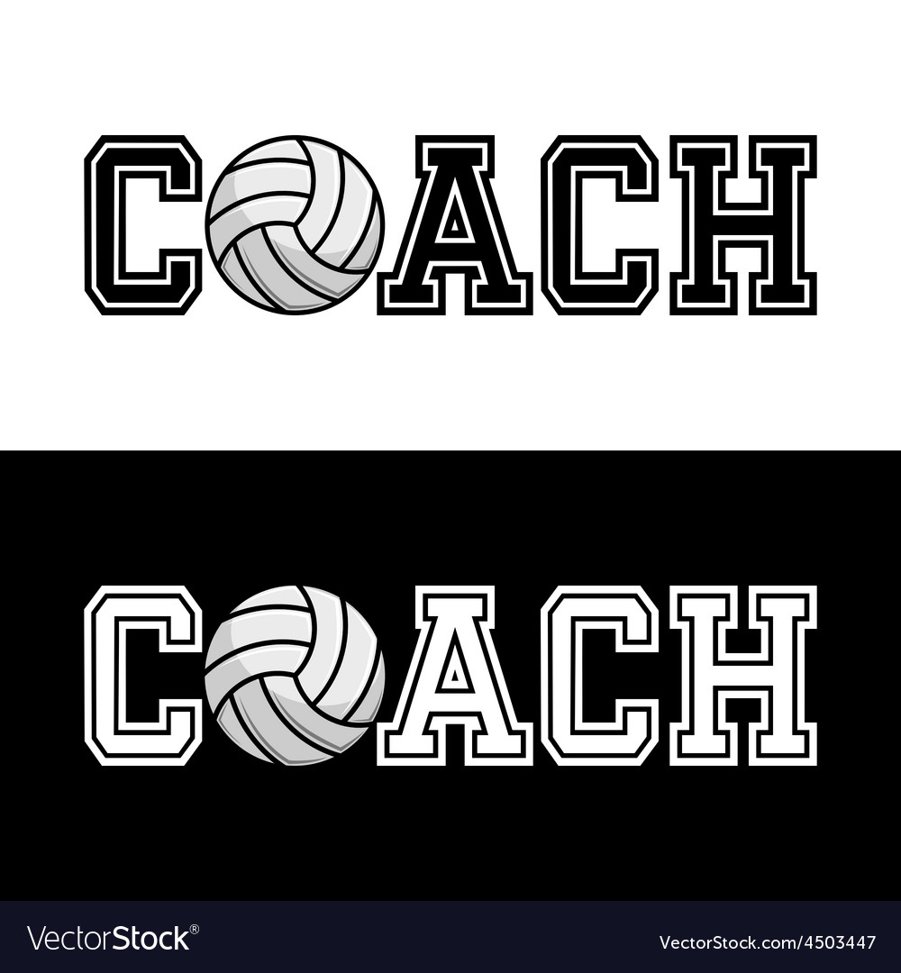 Coach t-shirt typography vector | Price: 1 Credit (USD $1)