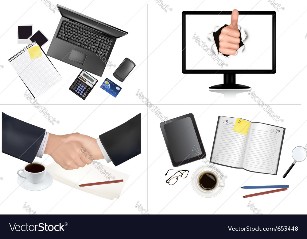 Business and office backgrounds vector | Price: 3 Credit (USD $3)