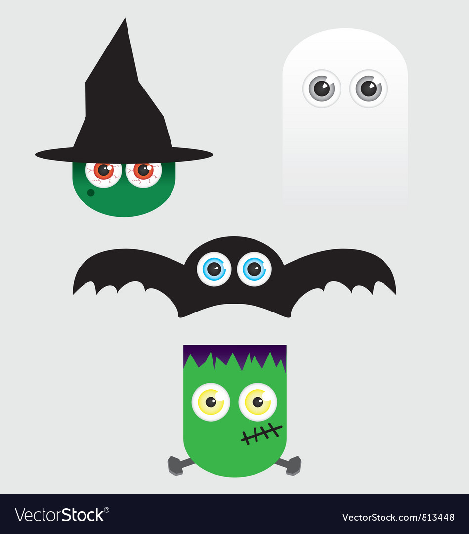 Halloween eyes vector | Price: 1 Credit (USD $1)