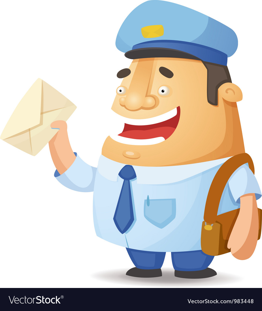 Postman vector | Price: 3 Credit (USD $3)