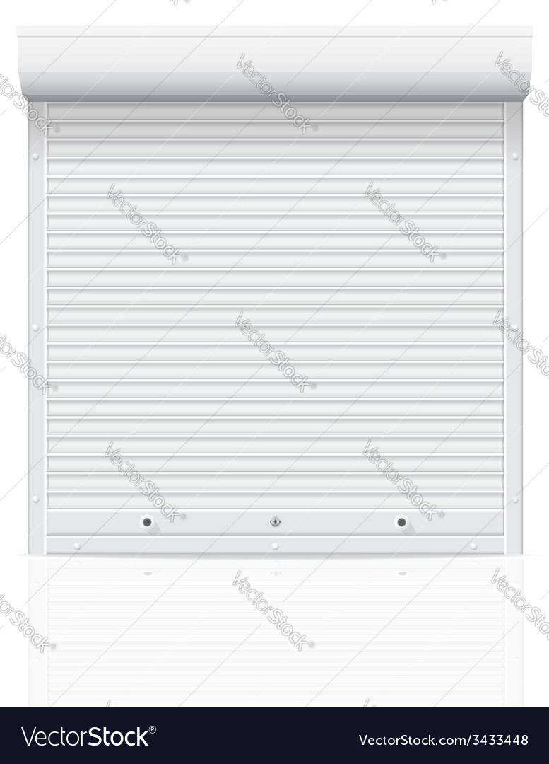 Rolling shutters 01 vector | Price: 1 Credit (USD $1)