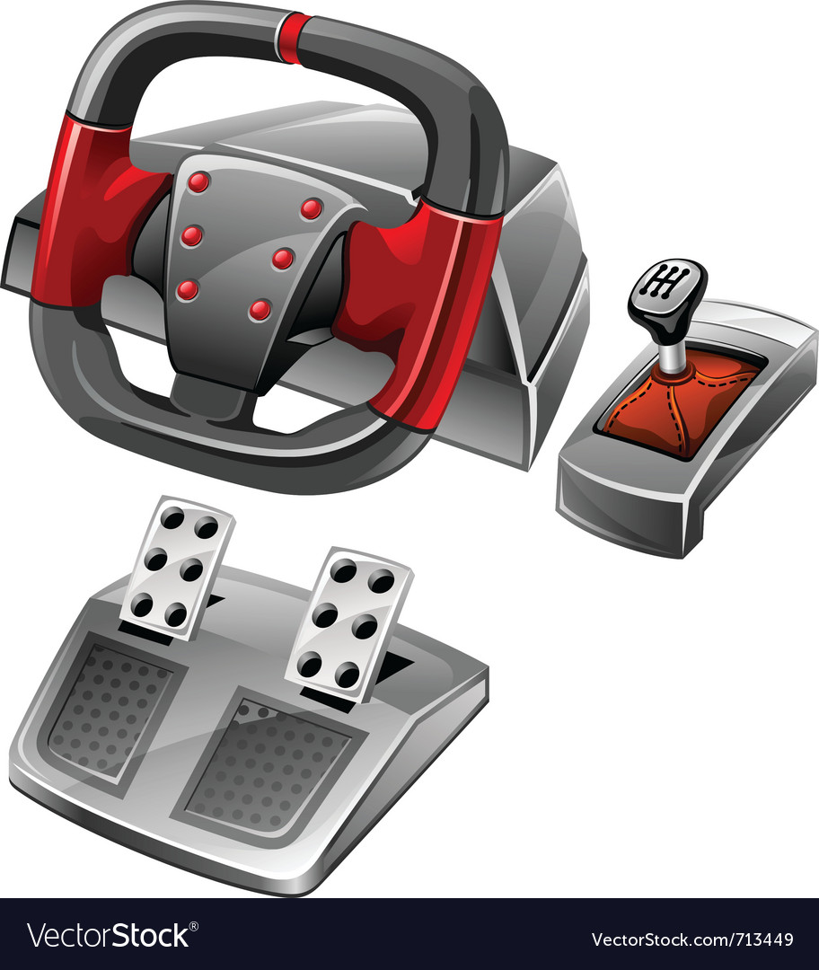 Computer game wheel vector | Price: 3 Credit (USD $3)