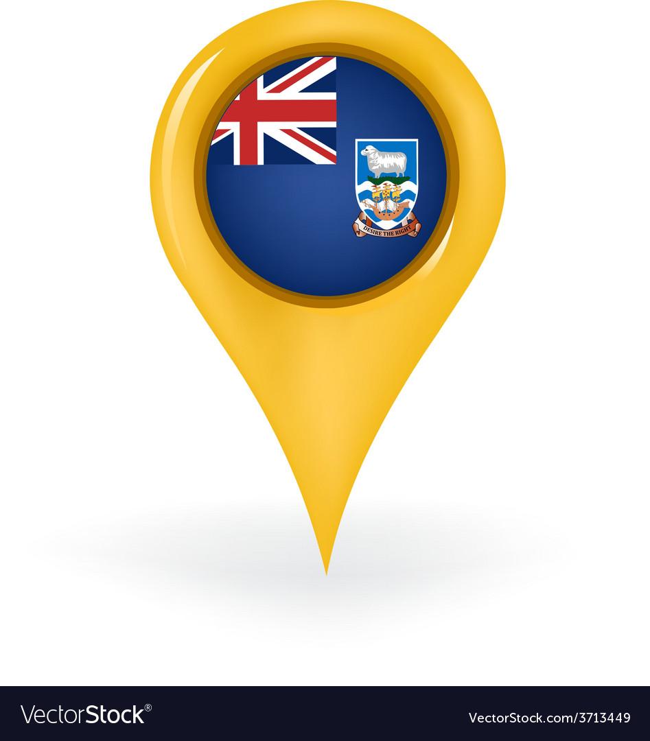 Location falkland islands vector | Price: 1 Credit (USD $1)