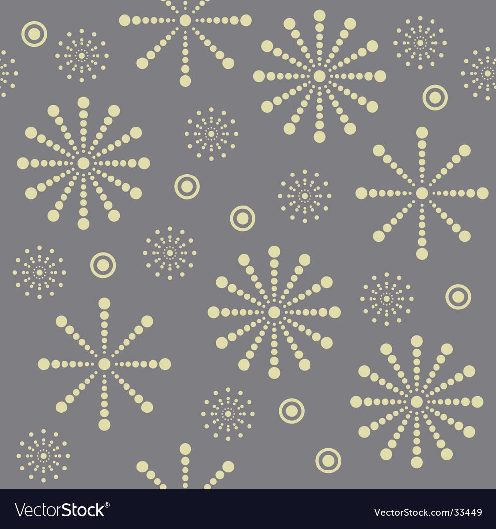 Snowflake seamless pattern vector | Price: 1 Credit (USD $1)